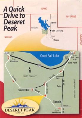 Deseret Peak Location